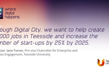"Teesside University unveils five-point economic growth plan for ""superior digital capability"" in the Tees Valley"